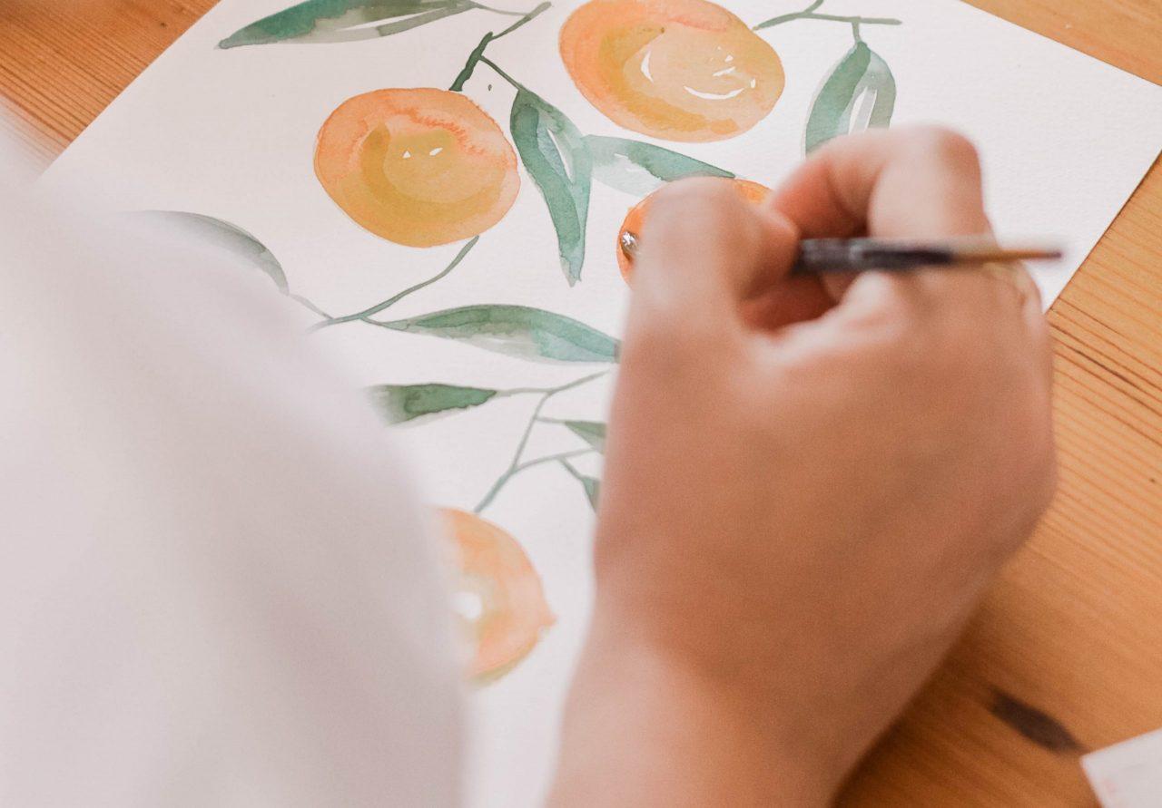 L'expression du pinceau par le dessin des enfants