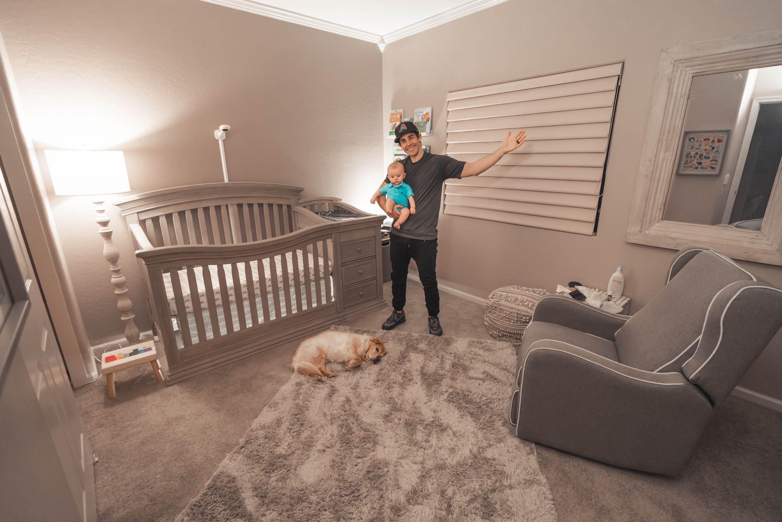 Une chambre bébé pratique !